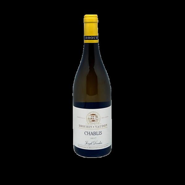 Bouteille de Chablis, vin blanc 75cl