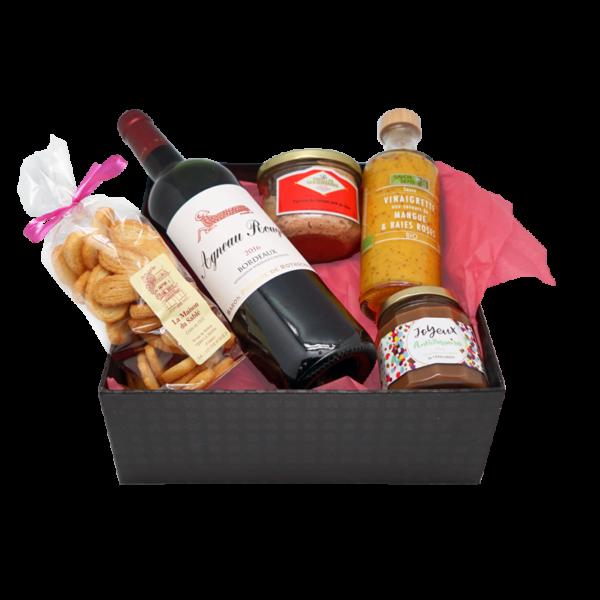 Généreuse box de produits du terroir de la Maison Reignier