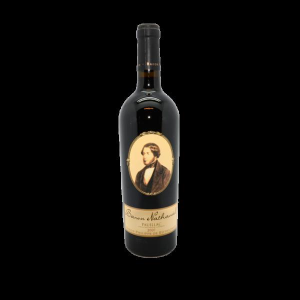 Pauillac Baron Nathaniel, vin rouge 75cl
