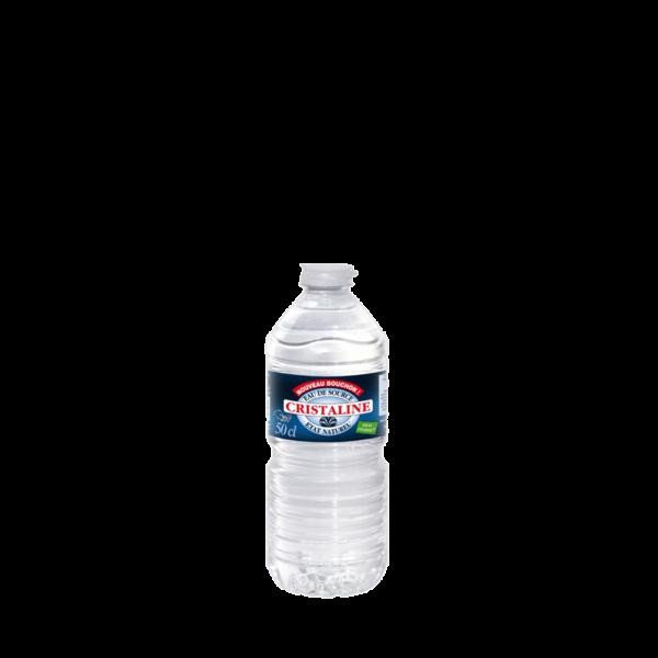 Bouteille d'eau minérale Cristaline 50cl