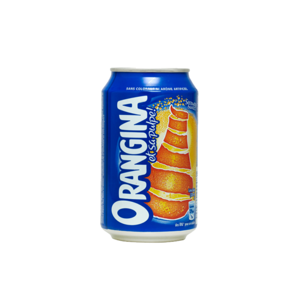 Orangina en canette de soda 33cl