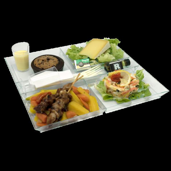Livraison de bons plateaux-repas, équilibrés et pas cher dans les entreprises en Sarthe