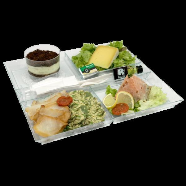 Plateau repas complet livré dans les entreprise du Mans