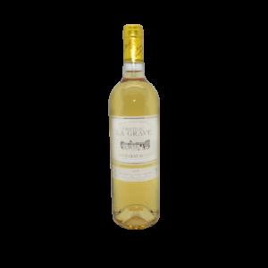 Chateau la Grave, Sainte Croix du Mont, vin blanc 75cl
