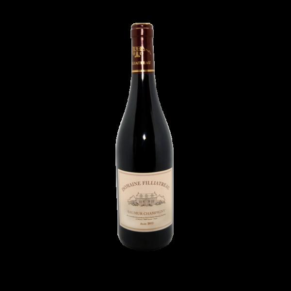 Saumure champigny, bouteille de vin rouge 75cl