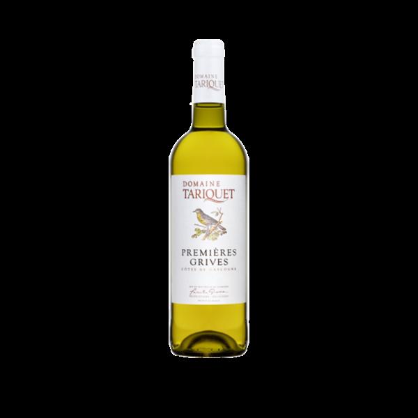 Bouteille de Tariquet, vin blanc 75cl